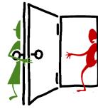 hold doors